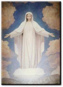 prière-vierge-marie-blanche Je vous salue Marie