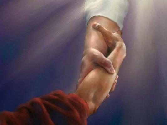 evangile-jesus-main La Bonne Nouvelle.