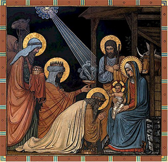evangile-trois-mages Matthieu 2 : 2 Nous avons vu son étoile à l'orient.