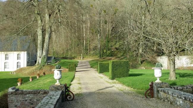 jardins-abbaye-saint-wandrille Compte rendu de la retraite à l'abbaye Saint-Wandrille de Fontenelle