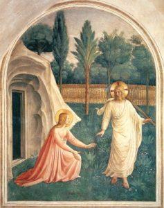 Matin-Paques-FraAngelico Le Christ est ressuscité.