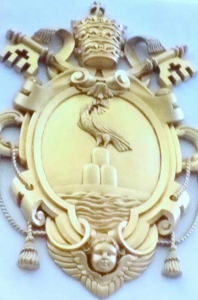 20160424_120714 La basilique du Rosaire, je vous salue Marie.