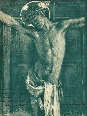 Crucifixion_-_George_Desvallieres_1950 Visite l'Exposition «Corps et âme» au Petit Palais