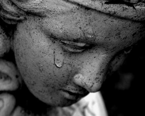 larmes Mort d'un sans abris par la miséricorde divine