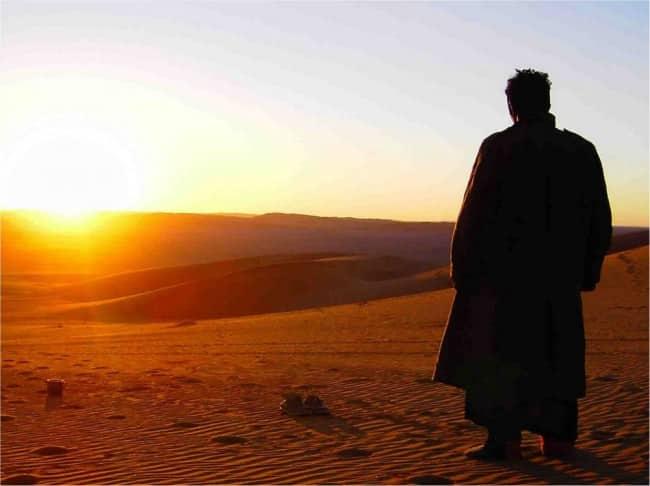 evangile-desert-homme Bénédictions