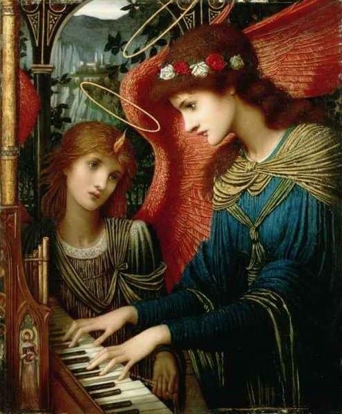 Sainte-Cecile Un bon musicien du Seigneur