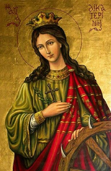 saintecatherinedalexandrie Notre cité, à nous, est dans les cieux.