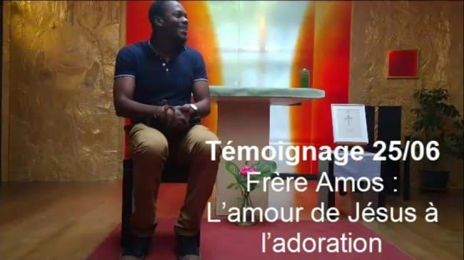 Frère Amos de Côte d'Ivoire : L'amour de Jésus à l'adoration