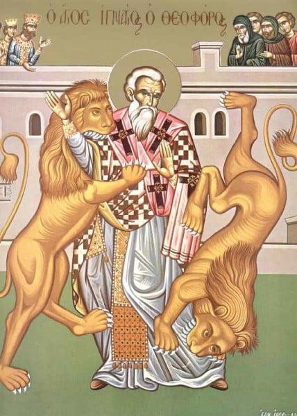 St-ignace-theophore Un seul évêque, une seule eucharistie