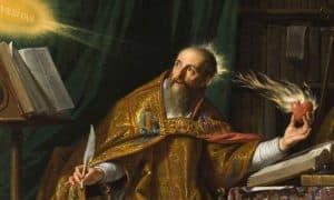 saint_augustine_La prière du Seigneur contient et achève toute prière.