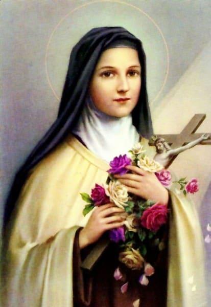 Therese-de-Enfant-Jesus Veillée de prière pour la Paix avec Notre Dame de Fatima, Sainte Thérèse de Lisieux et Padré Pio