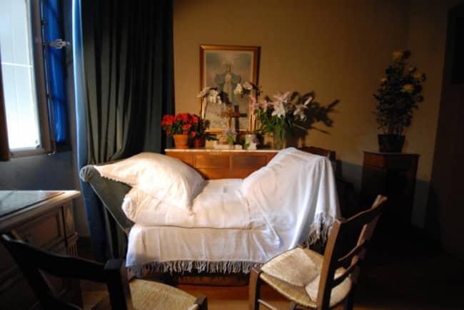 Chambre-Marthe-Robin Eden Jung-Wook PARK, «Les deux rencontres avec Marthe Robin et le Sacré-Cœur de Jésus»