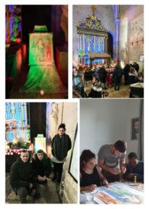 ND-sqns-abris-Chartres Réunion Etoile du Berger : Adoration & Témoignage